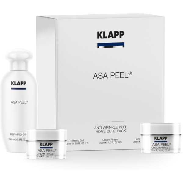 Klapp Asa Peel® Anti Wrinkle Peel Home Cure Pack