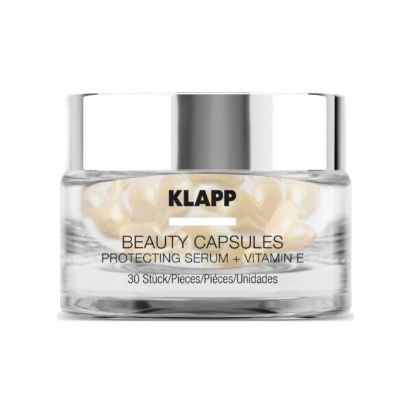Klapp Beauty Capsules Protecting Serum + Vitamin E