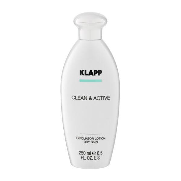 Klapp Clean & Active Exfoliator Lotion Dry Skin