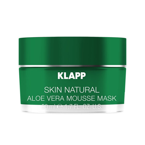 Klapp Skin Natural ALOE VERA MOUSSE MASK
