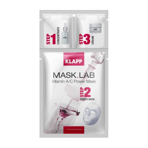 Klapp Mask Lab Vitamin A/C Power Mask