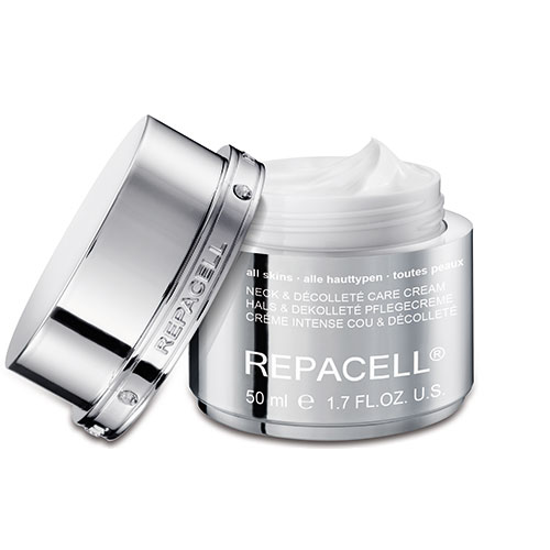 Hautbar Repacell Neck und decolléte Care Cream