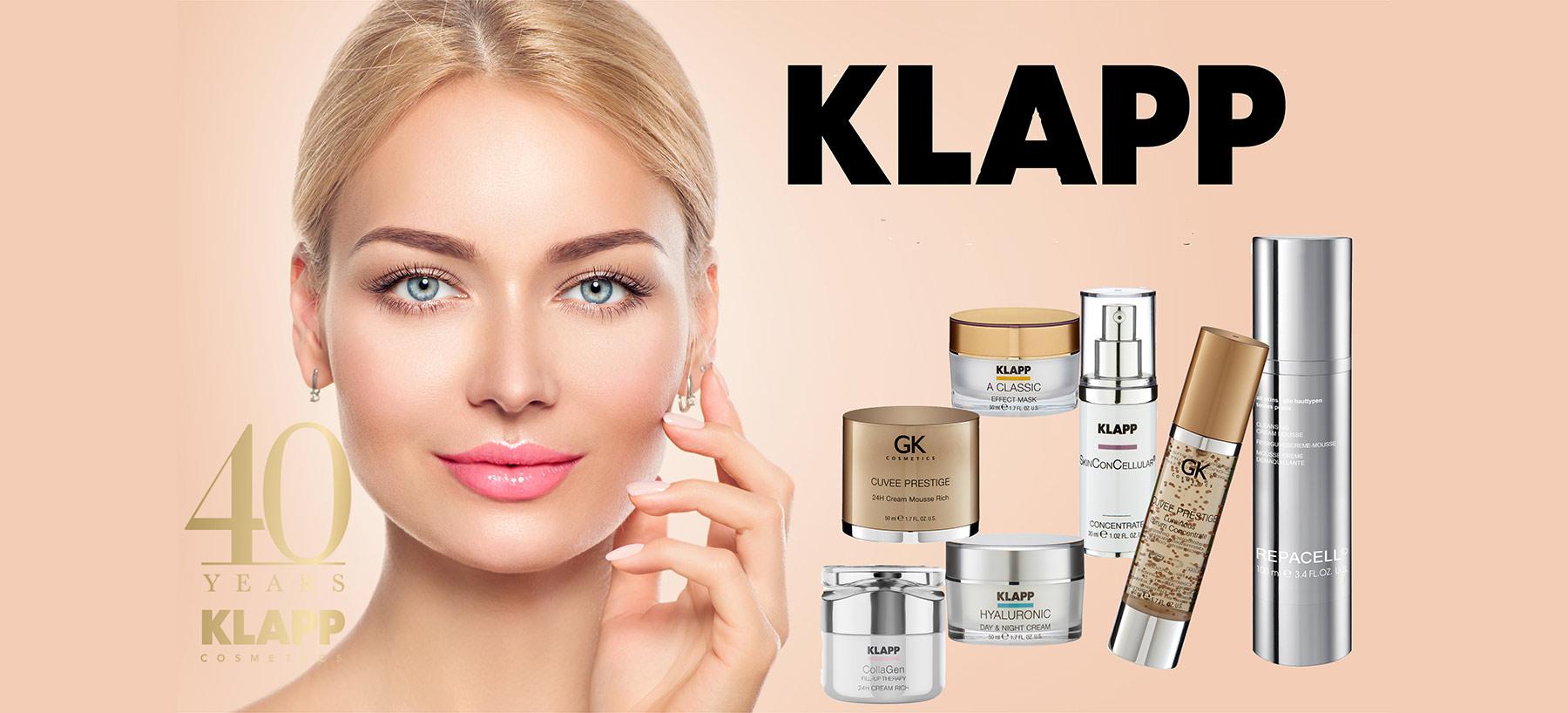 Klapp Beauty Cosmetics Care Pflege bei shop.hautbar.de